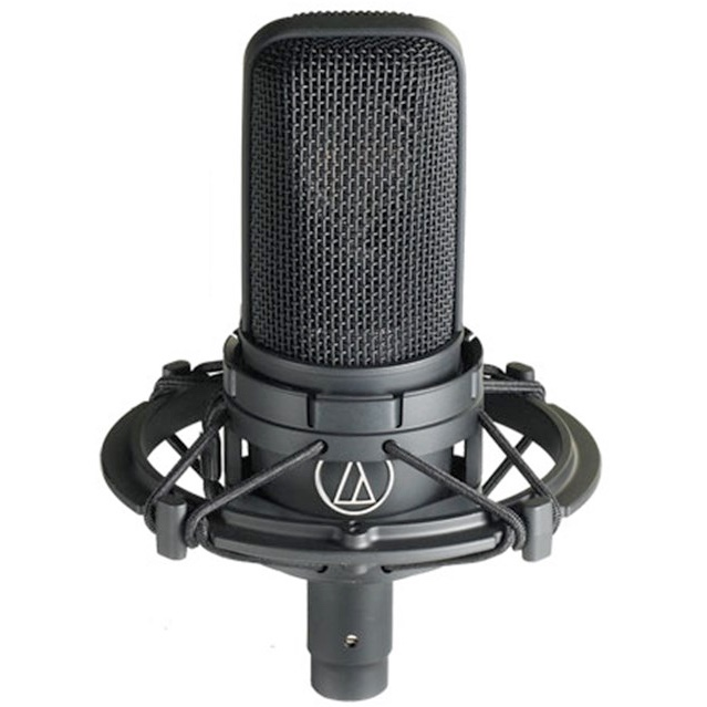 mic-AT4040-mounted