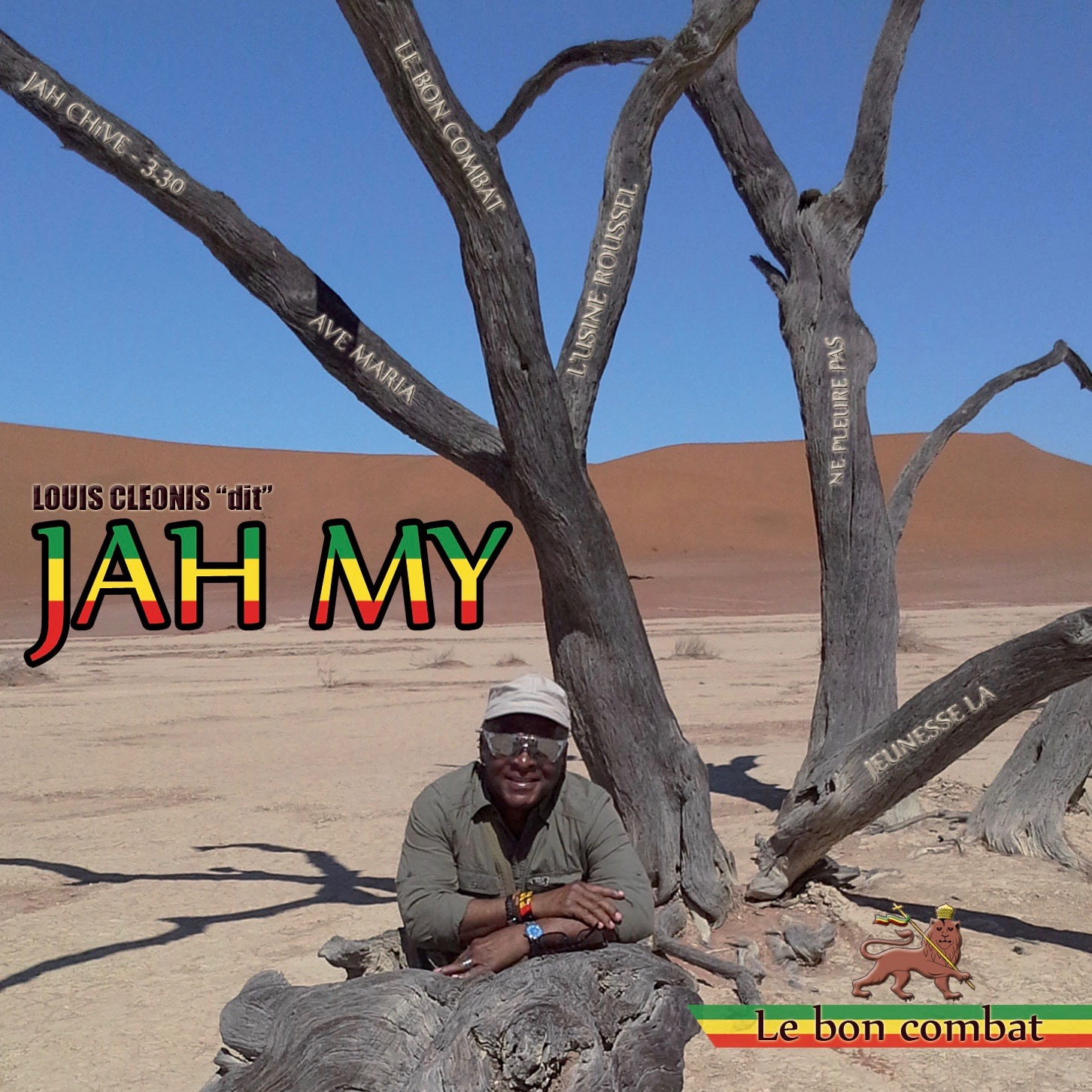 Jah My   Le Bon Combat CD - ENREGISTREMENT