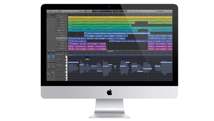 iMac Logic Pro X - ENREGISTREMENT